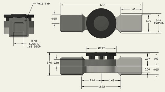 Adjustable Locking Technologies - Plastic Dimensions